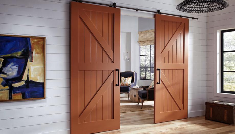 INTERIOR BARN DOORS