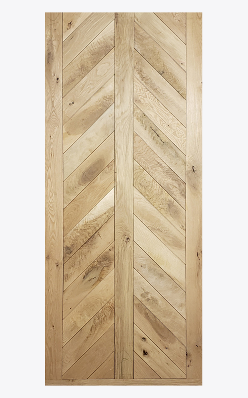Arrow Chevron Door
